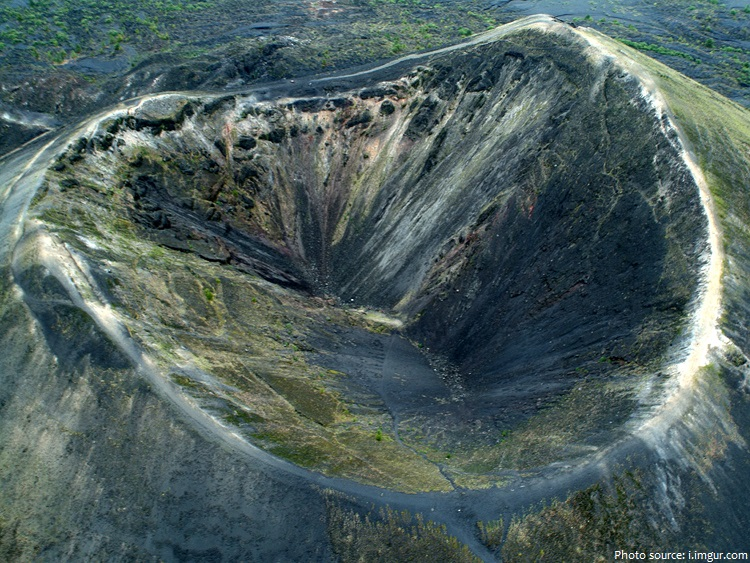 parícutin crater