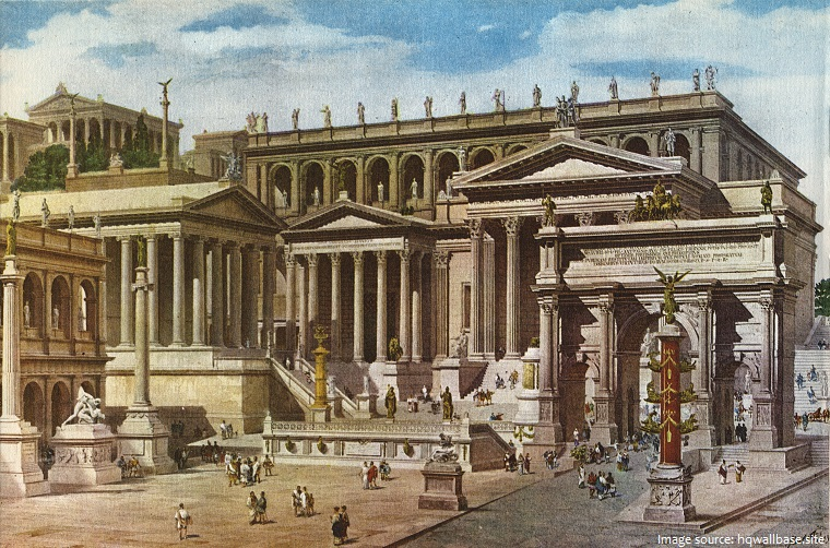 roman forum reconstruction