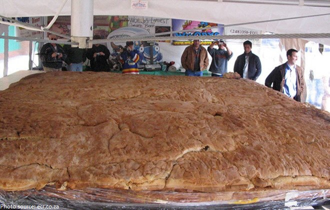 the largest sandwich in the world