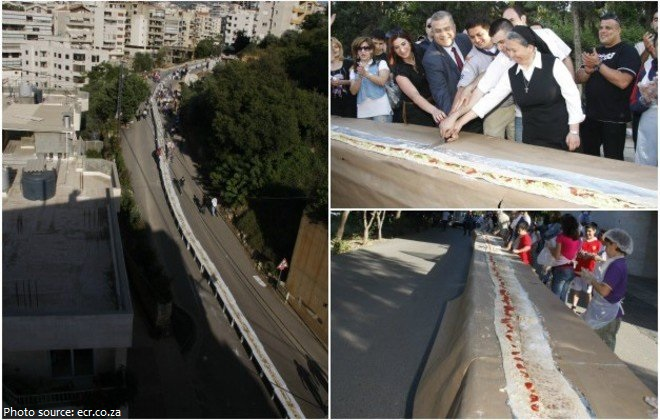 the longest sandwich in the world