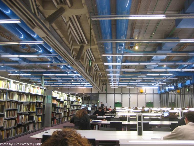 centre pompidou library