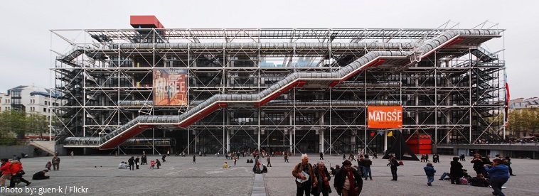 interesting facts about the centre pompidou just fun facts