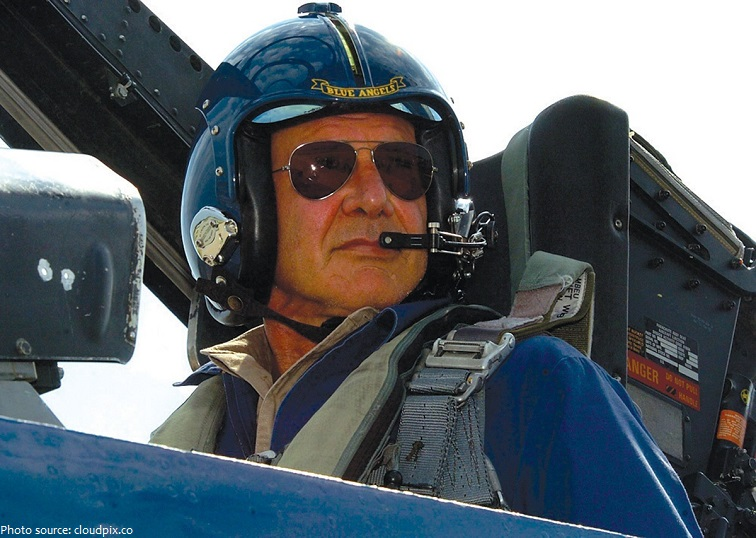 harrison ford pilot
