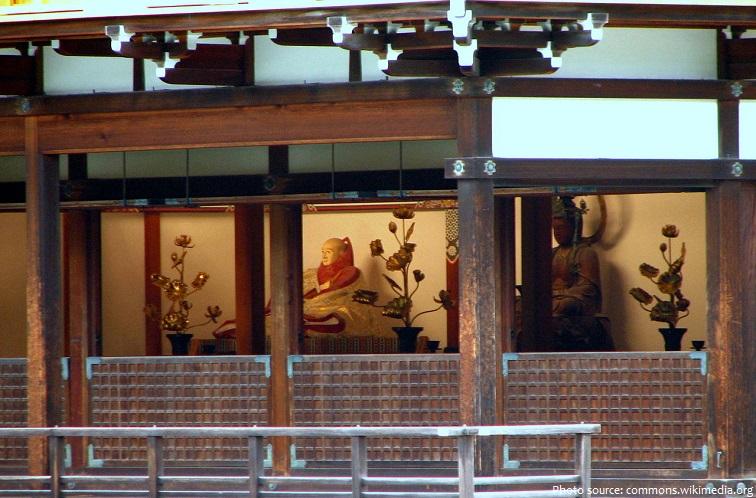 kinkaku-ji inside