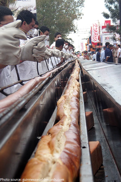 longest hot dog in the world