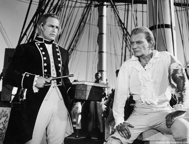 marlon brando mutiny on the bounty