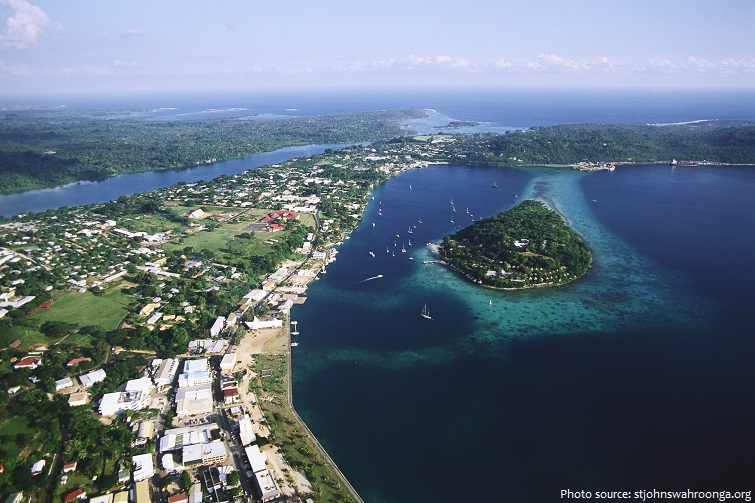 It Is Vanuatu S Most Important Harbour And The Center Of Country Trade International Airport Bauerfield Also Located In