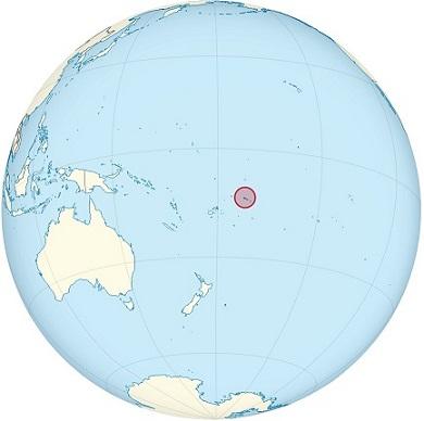 samoa world map