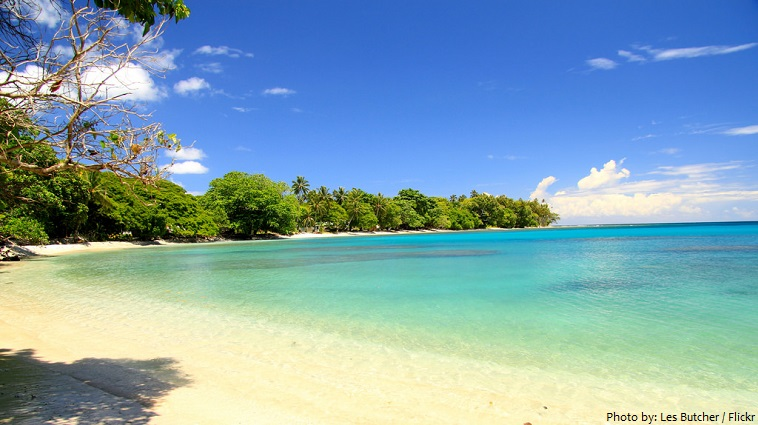 solomon islands beach