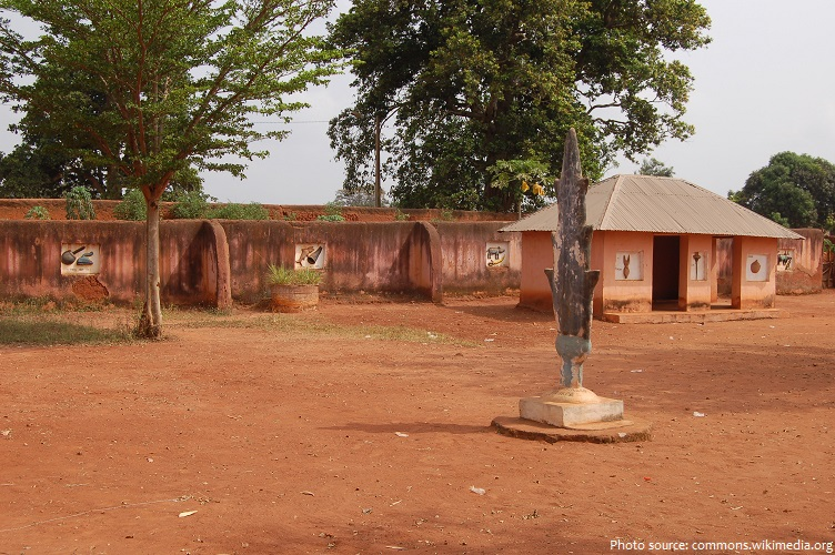 the royal palaces of abomey