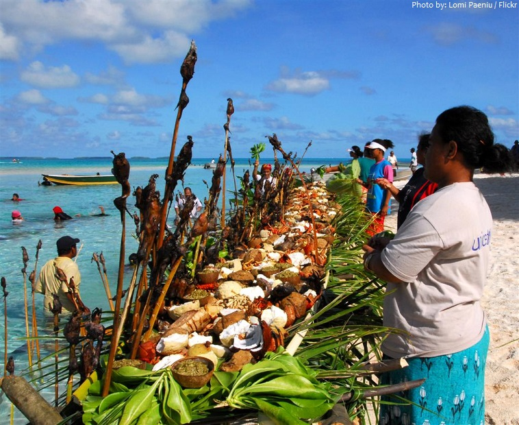 tuvalu food beach