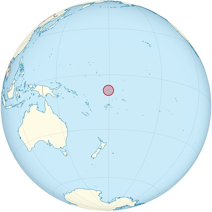 tuvalu world map