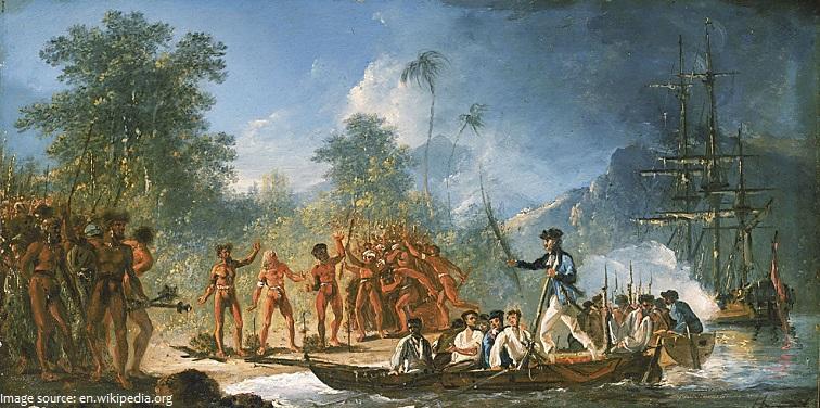 vanuatu europian explorers