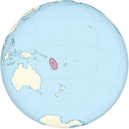 vanuatu world map