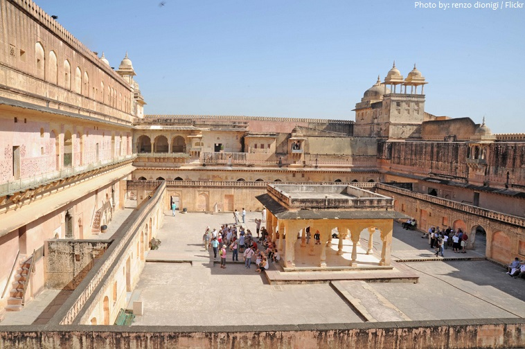 amer fort palace fourth courtyard