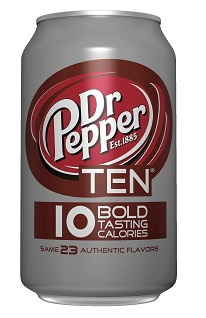 dr pepper ten
