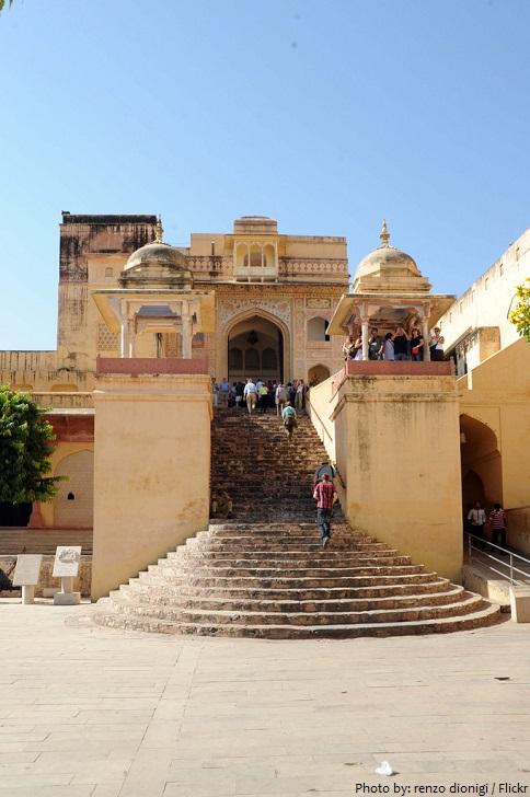jalebi chowk stairway