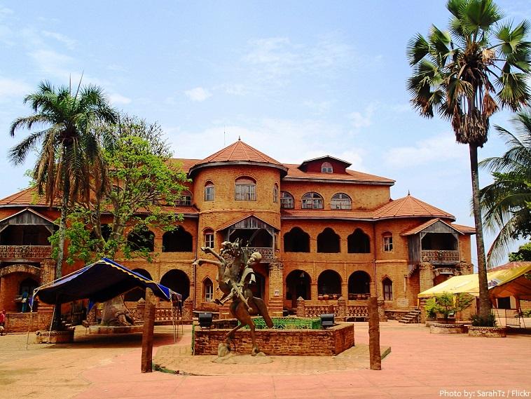 royal palace of foumban