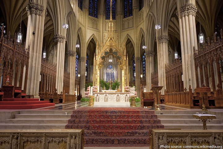 st. patrick's cathedral main altar