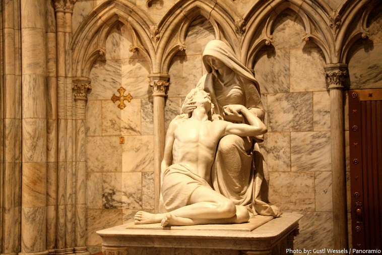st. patricks cathedral pietà