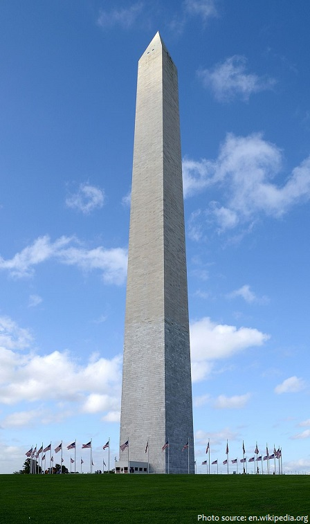 Interesting facts about the washington monument just fun for Facts about the monument