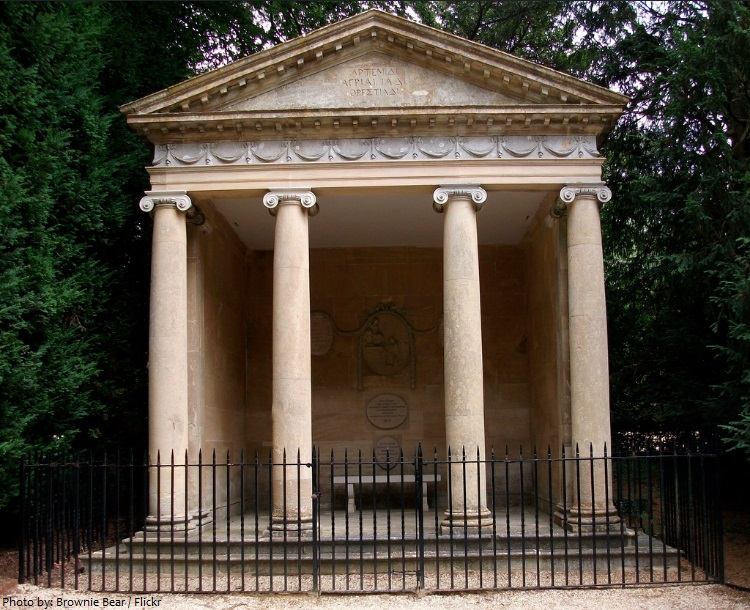 blenheim palace temple of diana