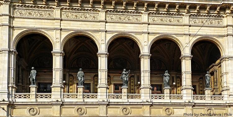 vienna state opera bronze statues