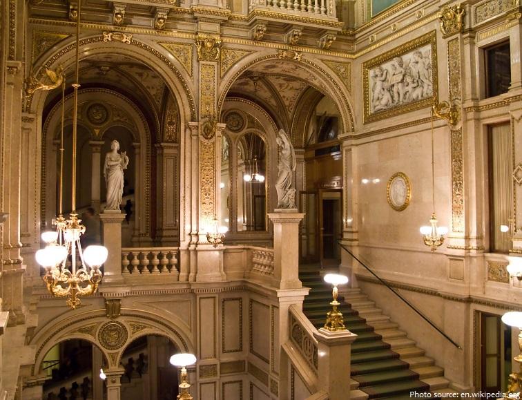 vienna state opera stairs