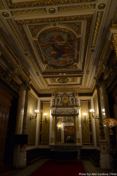vienna state opera tea room