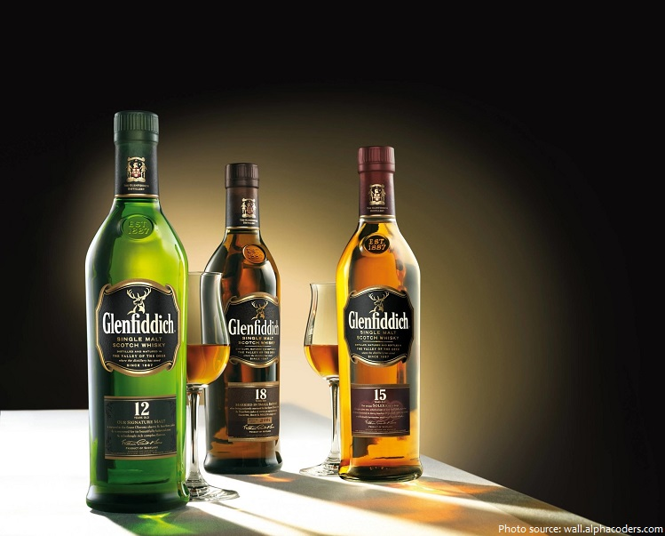 whiskey glenfiddich