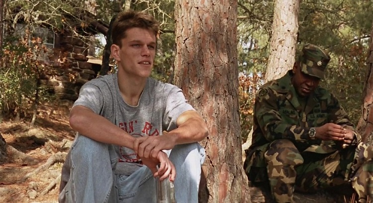 courage under fire matt damon