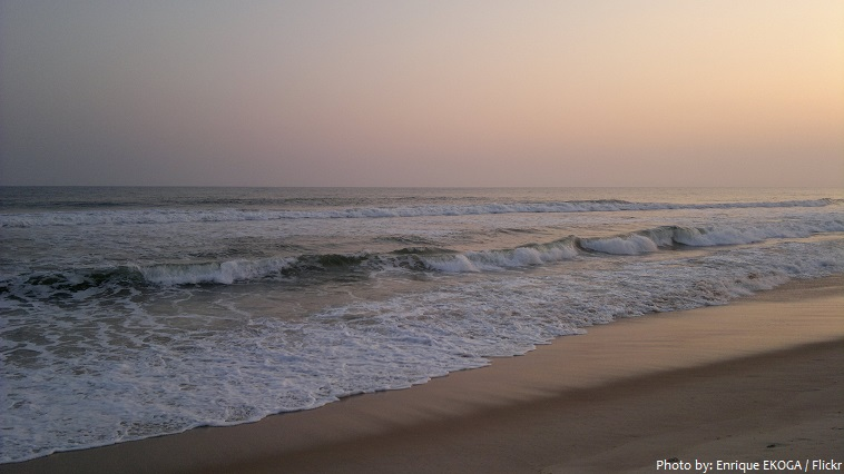 gabon beach