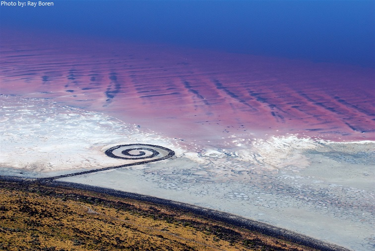 great salt lake spiral jetty