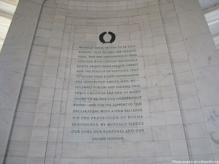 inscriptions jefferson memorial