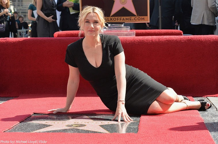 kate winslet star hollywood walk of fame