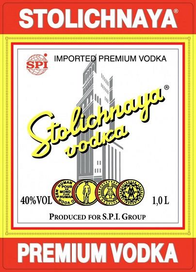 stolichnaya label