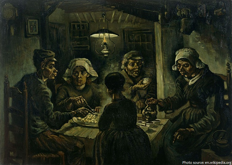 the potato eaters van gogh