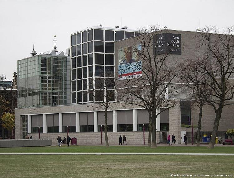 van gogh museum main building