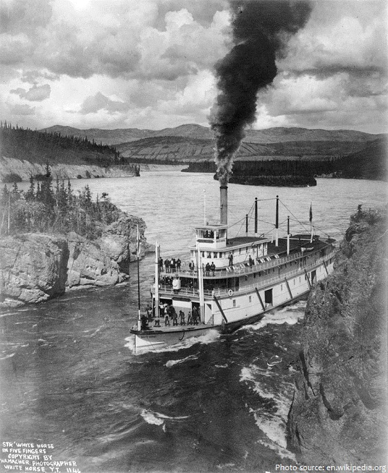 yukon river steamboat
