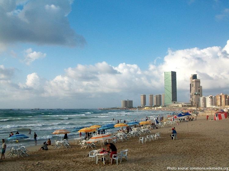 beach libya