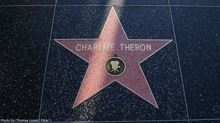 charlize theron star hollywood walk of fame