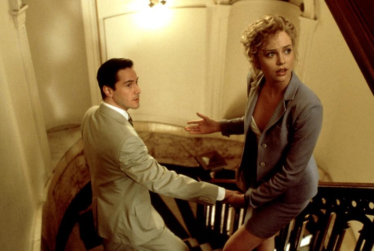 harlize theron the devils advocate