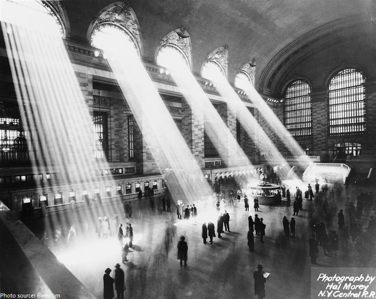 grand central station old photo