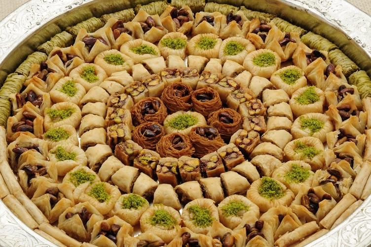 pistachio deserts