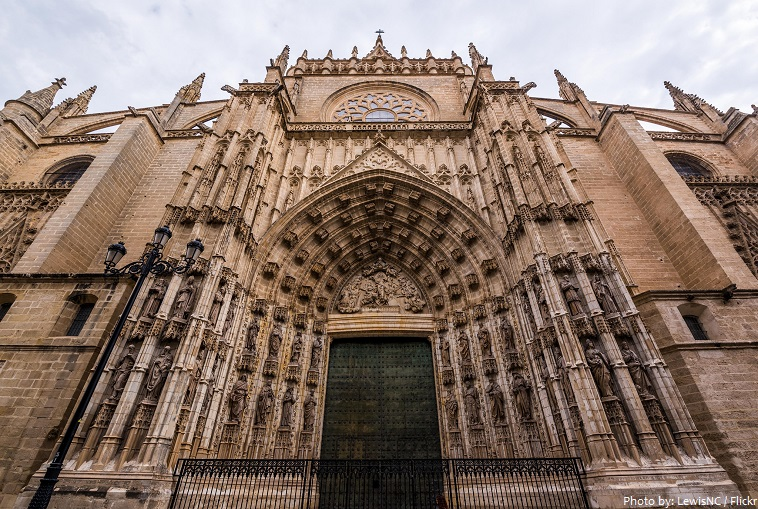seville cathedral main door