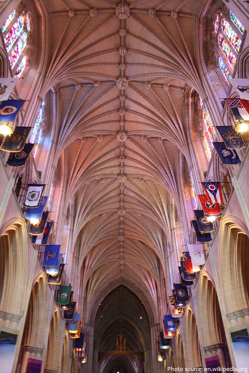 washington national cathedral ceiling