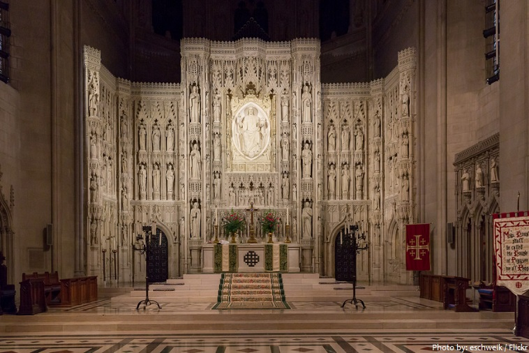 washington national cathedral high altar