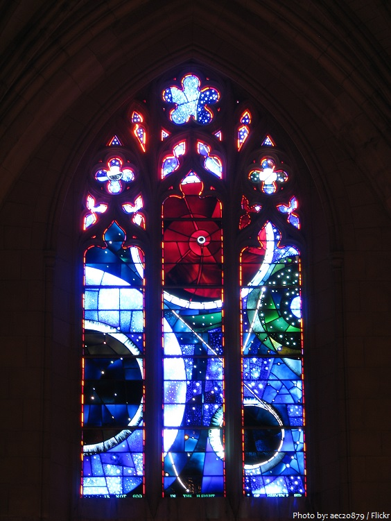 washington national cathedral space window