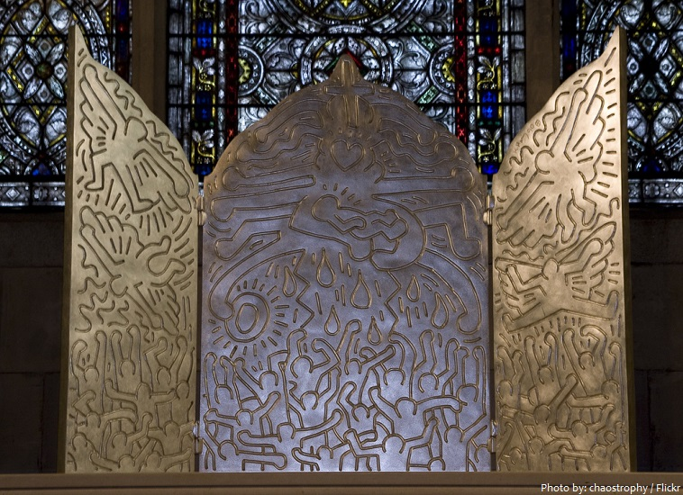 Cathedral of St John the Divine Keith Haring