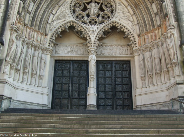 Cathedral of St John the Divine doors